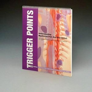 anatchart,chart,book,trigger,points,myofascial,pain,discomfort,laminated